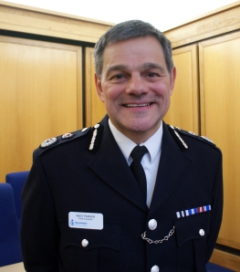 Warwickshire Police's Chief Constable Andy Parker
